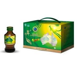 纯天然绿色养生功能性自制饮品山姆大叔绿山姆西洋参植物饮品