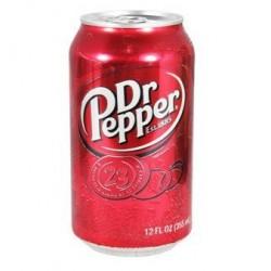 美国进口-Dr.Pepper胡椒博士汽水 持续热卖 355ml*12罐/箱