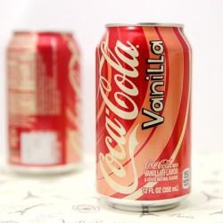 可口可乐 香草味 香草可乐 美国原装进口 335ml*12罐/箱