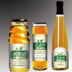 正浓金樽750ml木塞苹果醋|河南名牌苹果醋