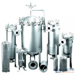 100吨自来水过滤器  袋式过滤器 济宁汇泉专业生产