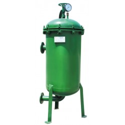 100吨碳钢袋式过滤器  山东济宁汇泉专业生产