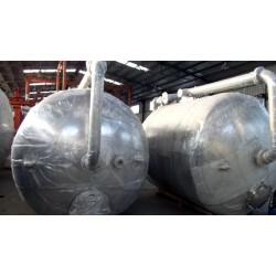 100吨不锈钢/碳钢衬胶 自来水过滤器 山东汇泉专业生产