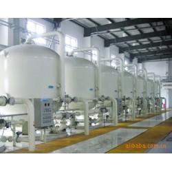 100吨碳钢衬胶自来水过滤器 山东汇泉专业制造