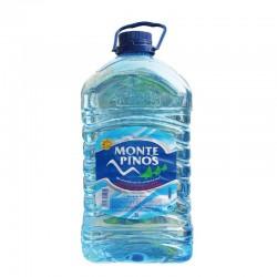 诚招批发代理 比诺斯山天然矿泉水5L*4西班牙进口矿泉水