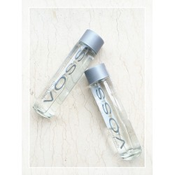 正品voss 原装挪威进口纯天然气泡矿泉水含气饮用水375ml一箱