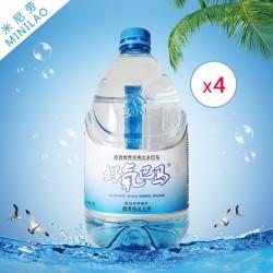 批发团购巴马好氧饮料矿物质水4L*4支 天然弱碱性泡茶炖品专用水