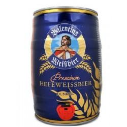 德国啤酒 进口啤酒 爱士堡 小麦 黑啤酒 5L桶装啤酒  桶装
