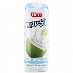 UFC 纯椰子水100% 椰汁1L装 泰国进口 果蔬汁饮料 (整箱发货)