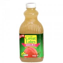 100%纯饮料 大湖 饮料 果汁——1L装 桃子汁 12桶/箱