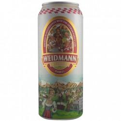 德国原装进口啤酒 威德曼原浆小麦黑啤酒 500ml*24听(整箱发货)