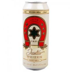 德国进口黑森马蹄Hildebrand小麦白啤酒 听装500ml *24(整箱发货)