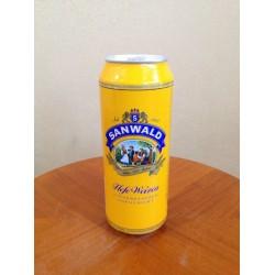 德国进口斯图加特乡村小麦白啤酒 听啤500ml *24(整箱发货)