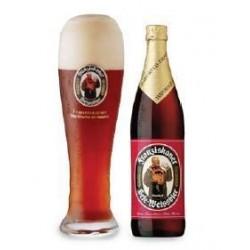 德国进口 教士纯麦黑啤酒 Franziskaner 20/箱500ml  (整箱发货)