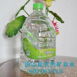 渔山泉天然矿泉水 养生泉水 口感纯正 4.5L*4瓶品质保障