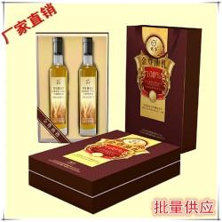 健康搭档礼盒套装【杏仁油+亚麻籽油】高端食用油
