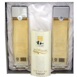厂家批发丽江贡和供应纯天然青刺果油500ml*2礼盒高端食用油经销