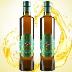 内蒙古产地纯天然冷榨亚麻籽油 蒙谷香亚麻籽油 500ml