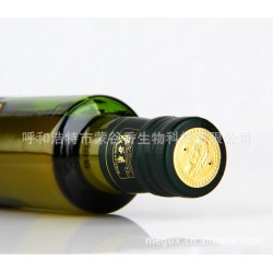 厂家直供内蒙古冷榨亚麻籽油 蒙谷香脱蜡亚麻油500ml亚麻酸含量高