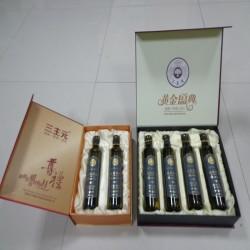 全国招商亚麻籽油500ml瓶装 礼盒装亚麻籽油 一级冷轧高亚麻酸