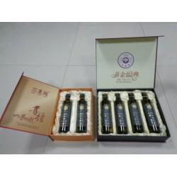 亚麻籽油生产厂家提供礼盒装亚麻籽油 送礼必备保健食品