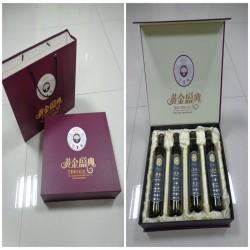 亚麻籽油生产厂家提供中秋礼盒装亚麻籽油  可代工贴牌
