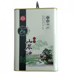 广西特产100%纯正巴马养生野生山茶油 茶籽油 铁罐精品装【来电订