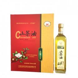 供应高品质养生野生山茶油高档礼盒装送礼佳品广西特产批发年货