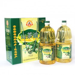 一级野生山茶油:世界长寿之乡广西巴马特产礼盒团购批发送礼佳品