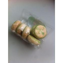 上海鑫春花月饼批发苏式月饼批发特色茶油360g百果味 一箱20卷