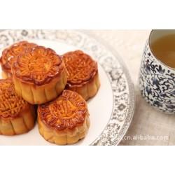 月饼厂批发称重月饼 50g散称红豆沙椒盐味广式月饼 一箱10斤