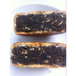 黄山众力特色广式月饼批发 黑芝麻味月饼 传统糕点点心月饼进货