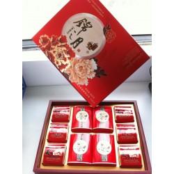 超市爆卖月饼 锦之月特价盒装月饼正品鑫春花月饼 诚招月饼代理商