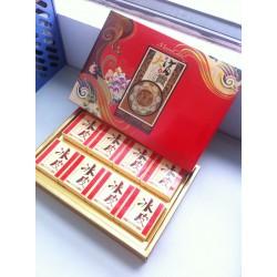 470克高端月饼礼盒 大富大贵小冰皮礼盒月饼 上海厂家月饼直销