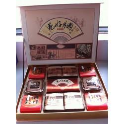 厂家月饼批发花好月圆红礼盒月饼 送亲朋送客户极佳 高档次礼盒