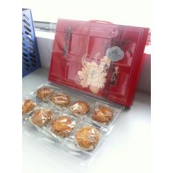 厂家直销中低端礼盒月饼富贵花开 员工礼盒月饼批发团购 特价促销
