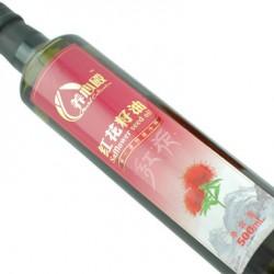 养心殿 红花籽油500毫升 单瓶装 原料来自新疆塔城 折扣促销