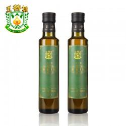 内蒙古纯天然冷榨 五谷城亚麻籽油250ml  厂家直供 超越橄榄油