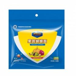 婴儿辅食 婴儿面条宝宝营养果蔬蝴蝶面128g 含有多种营养