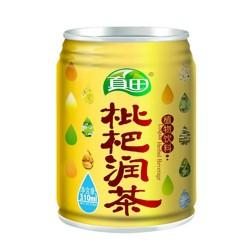 真田枇杷汁易拉罐天然有机饮料310ml*12