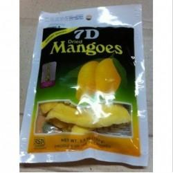 菲律宾特产7D芒果干90克 最新包装带激光防伪标志,带标签哦