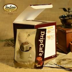 茜卡庄园 挂耳系列 曼特宁咖啡 正品 无糖 炭火烘焙优质咖啡粉