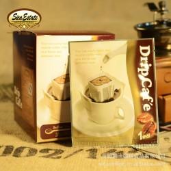 茜卡庄园 挂耳咖啡蓝山咖啡 正品 无糖 炭火烘焙优质咖啡粉 香醇