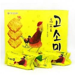 韩国进口 好丽友大高笑美饼干 芝麻酥脆饼干 整箱12盒/箱