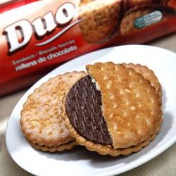 热卖零食西班牙进口食品谷优巧克力夹心饼干礼品170g 贝奇食品
