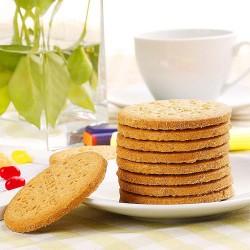西班牙谷优淡味饼干200g 进口食品 早餐饼干 低热量休闲食品
