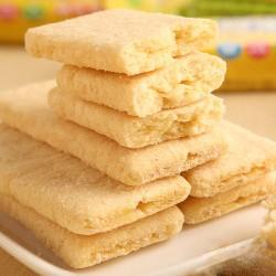 台湾进口 北田多米熊燕麦米饼蛋黄口味100g 休闲食品