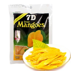 非律宾进口零食 多重防伪菲律宾特产 新包装7D芒果干九月特价