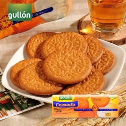 西班牙原装进口 谷优金黄脆饼干200g×4包 进口饼干零食