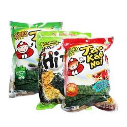 泰国进口零食 小老板TaoKaeNoi 日式炸紫菜 海苔片36g,整箱48包